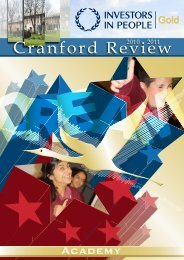 Cranford Review 2010-2011 (Annual edition 2011)