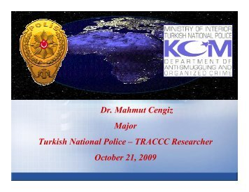 Speaker Mahmut Cengiz Power Point Presentation - Terrorism ...
