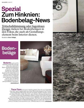 Spezial Zum Hinknien: Bodenbelag-News