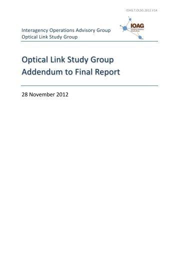 OLSG Final Report_Addendum - Interagency Operations Advisory ...