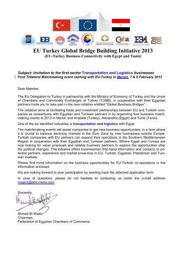 EU Turkey Global Bridge Building Initiative 2013 - Ceeba
