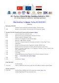 EU Turkey Global Bridge Building Initiative 2013 - Ceeba - Page 5