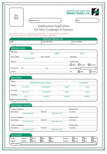 Oger Aplication form.pdf - Saudi Oger