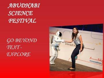 ABUDHABI SCIENCE FESTIVAL