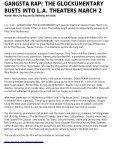 gangsta rap: the glockumentary busts into la theaters ... - C2itmedia - Page 2