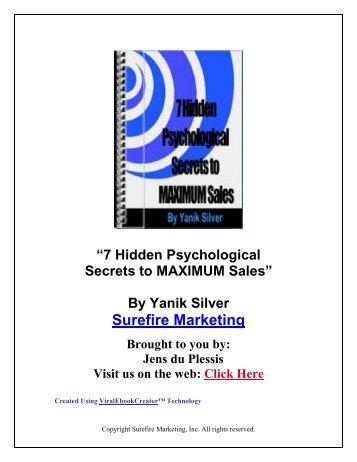 7 psychological secrets - C2itmedia