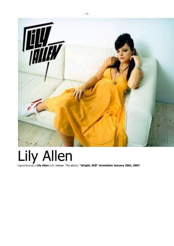 Lily Allen - C2itmedia