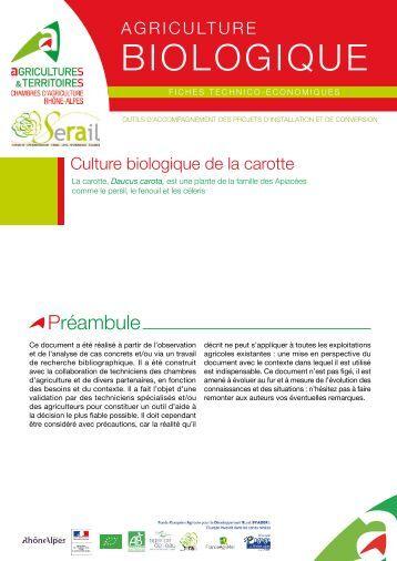 Rotation des cultures dans les exploitations biologiques for Chambre agriculture bouche du rhone