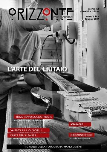 Orizzonte Magazine n°6 Giugno 2015