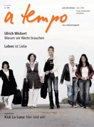 Ulrich Wickert Warum wir Werte brauchen Leben ist Liebe Kick La ...