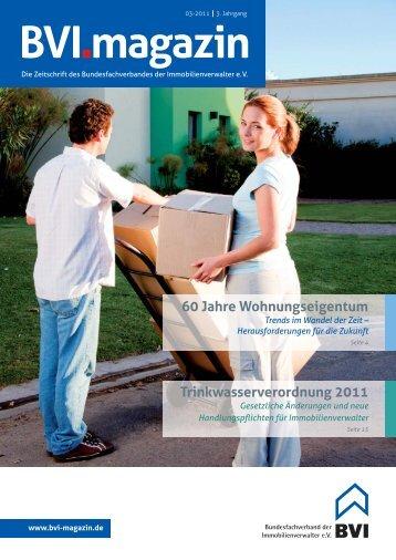 Die komplette Ausgabe als Pdf-Download - BVI Magazin