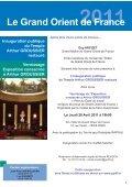 INAUGURATION PUBLIQUE du Temple Arthur GROUSSIER ... - Page 3