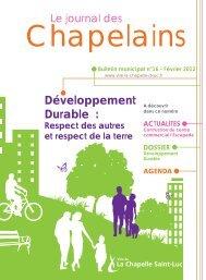 Bulletin municipal n° 16 - La Chapelle St-Luc