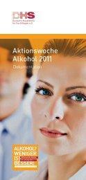 Dokumentation Aktionswoche 2011 - Aktionswoche Alkohol