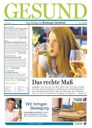 gesund - Aktionswoche Alkohol
