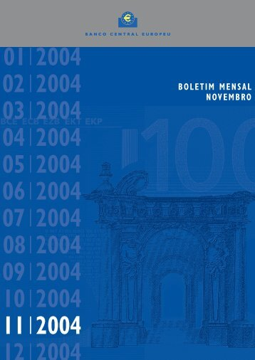 Bol. Mensal BCE - Novembro 2004 - Eurocid