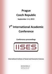 Ş. Gürçağ Tuna Reading Globalization through the ... - IISES