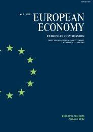 Economic forecasts, autumn 2002 - European Commission