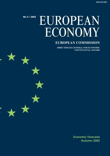 Economic forecasts, autumn 2002 - European Commission