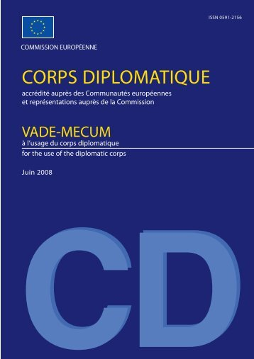 CORPS DIPLOMATIQUE - Biblioteca do Paraíso