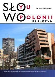 • Nr 39 BELGRAD 2009 • - Polonia-serbia.org