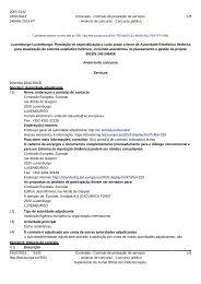 Luxemburgo-Luxemburgo: Prestação de ... - Infoeuropa