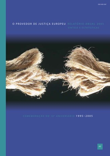 Relatório anual 2005 - Infoeuropa