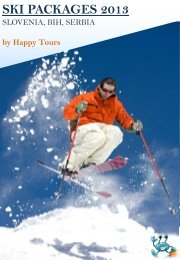 ski resort - Happy tours