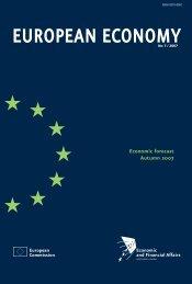 European Commission Economic forecast Autumn 2007 - Infoeuropa