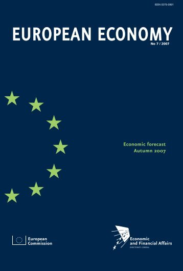 European Commission Economic forecast Autumn 2007 - Infoeuropa
