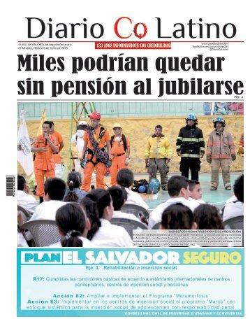 Edición 16 de Junio de 2015