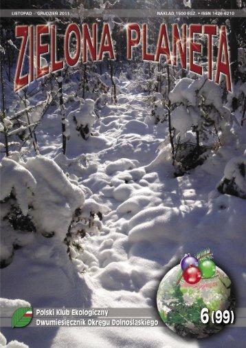 LISTOPAD – GRUDZIEŃ 2011 NAKŁAD 1500 EGZ. • ISSN 1426-6210