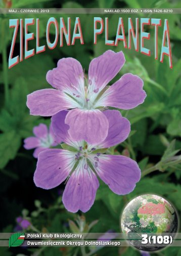 Polski Klub Ekologiczny Dwumiesięcznik Okręgu Dolnośląskiego