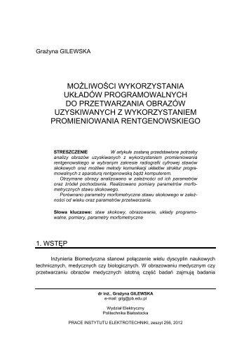 możliwości wykorzystania układów programowalnych do ...