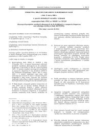 Dyrektywa 2006/22/WE Parlamentu Europejskiego i Rady - EUR-Lex
