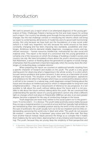 Introduction - Raport Polska 2030