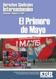 El Primero de Mayo - International Centre for Trade Union Rights