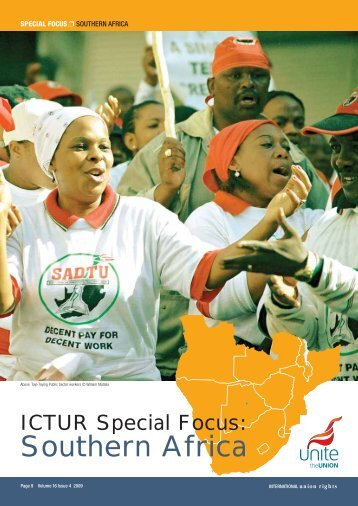 Southern Africa - International Centre for Trade Union Rights