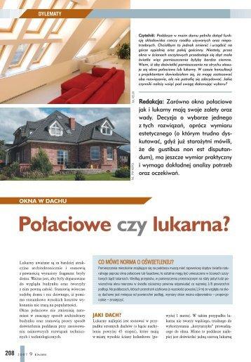 Okno dachowe czy lukarna? - Budujemy Dom