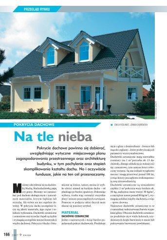 Pokrycia dachowe - Budujemy Dom