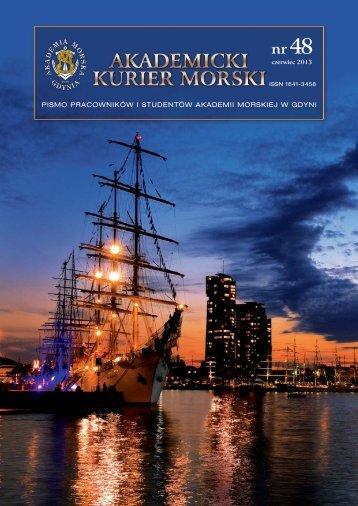 AKM nr 48 czerwiec 201 - Akademia Morska w Gdyni - Gdynia