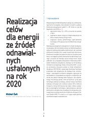 realizacja celów dla energii ze źródeł odnawial ... - Elektroenergetyka