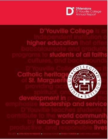 D'Mensions - D'Youville College