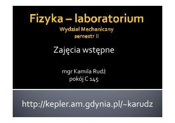 Prezentacja z zajęć wstępnych - Gdynia