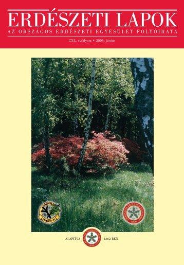 Letöltés egy fájlban [4.9 MB - PDF] - Erdészeti Lapok
