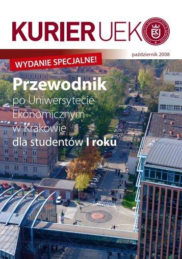 Przewodnik - Uniwersytet Ekonomiczny w Krakowie
