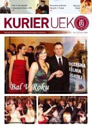 Luty 2009 - Uniwersytet Ekonomiczny w Krakowie