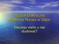 Wydział Elektryczny Akademia Morska w Gdyni