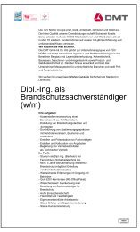 Dipl.-Ing. als Brandschutzsachverständiger (w/m)