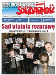 Gazeta do pobrania w pliku *pdf - Region Dolny Śląsk NSZZ ...